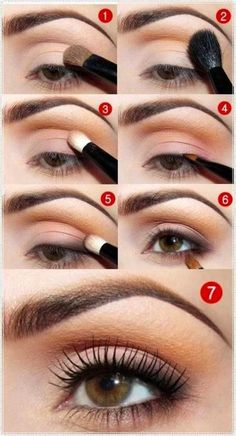 14. Paso a paso para maquillaje de ojo soft