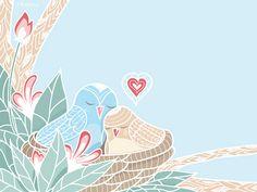 Love Birds by Oksancia, via Flickr