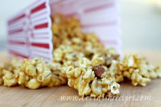 The Oscars are coming up at the end of the month, and this caramel popcorn would be a perfect treat for any Oscar party.  I'm not having a party and I'll probably still make it.  It's also great fo...