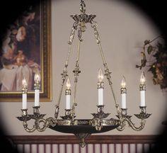 Napoleonic II Collection 6 Light Large Traditional Chandelier