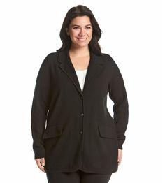Lauren Ralph Lauren® Plus Size Sweater Blazer