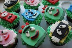 More Gabba cupcakes