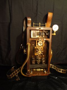 Steampunk Timemachine Backpack
