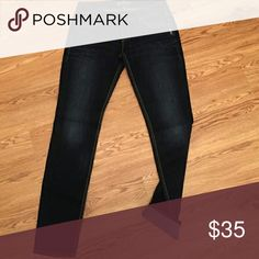 Silver Jeans - Dark Rinse -  Aiko Skinny Jean Reposhing - sadly they are not long enough for my long ass legs :(  In perfect condition & so easy to pair! I think these are like low rise / regular rise.  30 L  33 W Silver Jeans Jeans Skinny