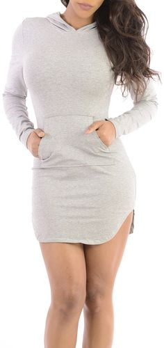 Able To Dash (Grey)-Great Glam is the web's best online shop for trendy club styles, fashionable party dresses and dress wear, super hot clubbing clothing, stylish going out shirts, partying clothes, super cute and sexy club fashions, halter and tube tops
