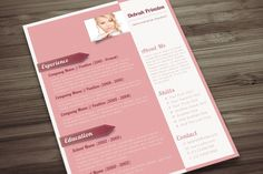 Sophisticated Lady CV by Visual Impact on Creative Market