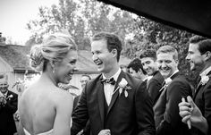 Candid wedding ceremony moment | Vintage Wedding Photography by www.newvintagemedia.ca