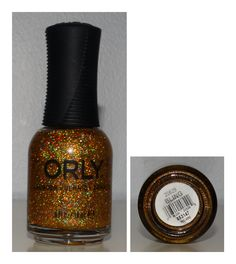 Orly Bling - Gold Holographic Small Glitter