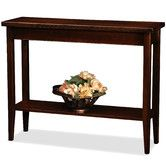 Found it at Wayfair - Laurent Console Table - potentially great for a behind the sofa table