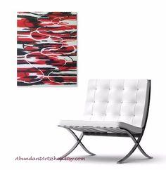 """""""Rock & Roll"""" 11x14 acrylic on canvas abstract art at #AbundantArtsShop #Etsy to buy click image #abstract #abstractart #abstractexpressionism #expressionism #BlackArt #RedArt #CanvasPainting #OriginalArt #OriginalPainting #CanvasArt #HomeDecor #ModernArt #ContemporaryArt"""