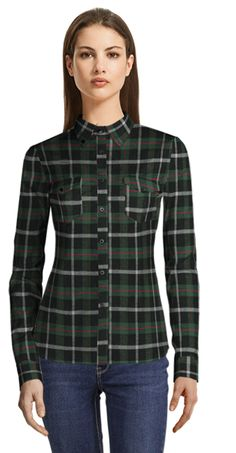 Flannel Shirts, Dress Shirts, Collections, Blouse, Winter, Tops, Dresses, Women, Fashion
