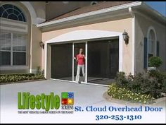 breezy living garage screen doors see more by lifestyle screen video