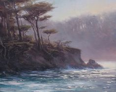 Jesse Powell - Whaler Cove Point Lobos- Oil - Painting entry - December 2013 | BoldBrush Painting Competition