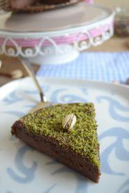 Cucina di Barbara food blog - blog di cucina ricette: Ricetta torta di ricotta con cioccolato e pistacchi