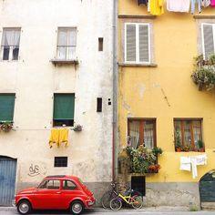 Tuscany and #Fiat500