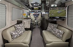 The Airstream Interstate - My dream vehicle ♥, but costs as much as a studio apartment :(.