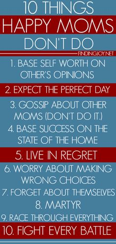 Not doing these ten things could change your life. @finding_joy