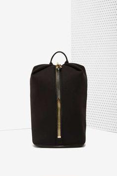 Aimee Kestenberg Destiny Neoprene/Leather Backpack - Accessories