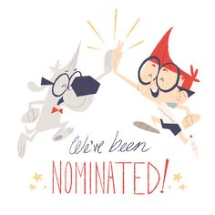 The Mr. Peabody & Sherman Show is nominated for Annie Awards for Character Design (Keiko Murayama, and Chris Mitchell) and Production Design (Kevin Dart, Eastwood Wong, Sylvia Liu, and Chris Turnham)!! So proud of everyone!!
