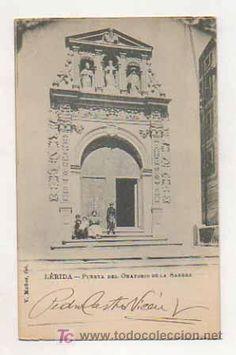 LLEIDA. PUERTA DEL ORATORIO DE LA SANGRE. (V. MUÑOZ FOT). - Foto 1