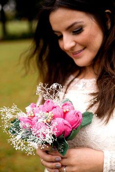 Ramo de papel papel de boda ramo de novia flores por FioriBelle