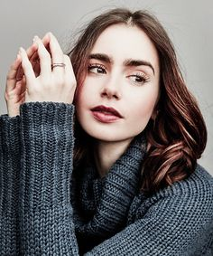 Lily Collins - People.