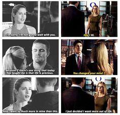 Arrow - Felicity, Oliver and Ray #3.2 #Season3