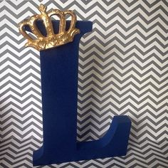 Royal Prince Wood Letters Prince Birthday by SimplylettersDesigns