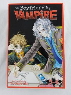 My Boyfriend is a Vampire Manga 5-6 Book Graphic Novel Yu Rang Han