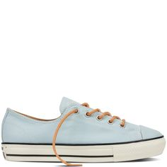 Chuck Taylor All Star High Line Peached Canvas Polar Blue