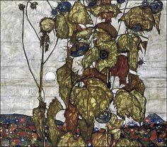 Wild Sunflowers ㅡ Egon Schiele 1814