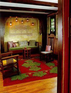 Arts and Crafts - Craftsman - Bungalow - Home - interior