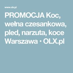 PROMOCJA Koc, wełna czesankowa, pled, narzuta, koce Warszawa  • OLX.pl