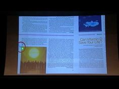 University Lecture: The D-Lightful Vitamin D for Health by Michael F. Spiritual Connection, Health Talk, Vitamin D, Ted Talks, Physiology, Diet And Nutrition, Vitamins And Minerals, Natural Healing, Self Help