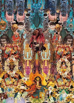 Spiritual Digital Collages by Luis Toledo