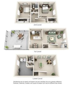 Williamsburg of Cincinnati Apartment Homes - 2 Bedroom Bath Apartment A Frame House Plans, Sims House Plans, House Layout Plans, House Layouts, House Floor Plans, Cottage House Plans, Craftsman House Plans, Country House Plans, Modern House Plans
