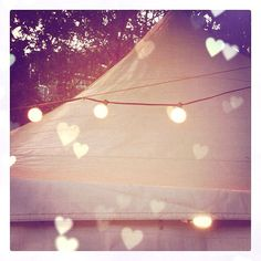 pretty lights and hearts via thisisglamorous