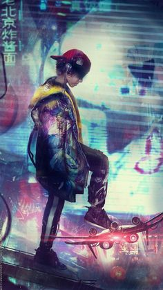 Hoverboard short film concept art 3242346 by Eddy-Shinjuku.dev… on Hoverboard short film concept art 3242346 by Eddy-Shinjuku.dev… on Cyberpunk 2020, Cyberpunk Kunst, Sci Fi Kunst, Character Concept, Character Art, Concept Art, Manga Anime, Anime Art, Cyberpunk Aesthetic