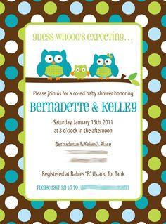 Owl 1. Koltin Baby ShowerOwl ...