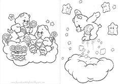 Fazendo a Nossa Festa - Colorir: Ursinhos Carinhosos
