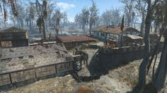 Greentop Nursery Brotherhood of Steel Outpost - No Mods #Fallout4 #gaming #Fallout #Bethesda #games #PS4share #PS4 #FO4