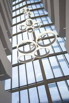 Proyecto Hoteles, iluminación técnica modelo Bubble de Norlight. Iluminación de diseño para oficinas, restauración, hoteles y contract. (Espacio Aretha agente exclusivo para España)