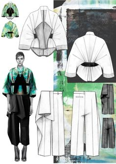 Niall cottrell designs for winning max mara project