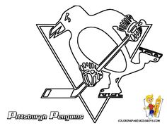 Pittsburgh Penguin printable picture http://www.printablesfree.com/categories/pictures