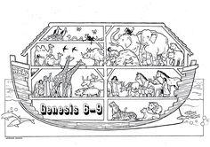 Noah's Ark Coloring Pages . 30 Beautiful Noah's Ark Coloring Pages . 75 Noah S Ark Baby Shower Invitations Bible Story Crafts, Bible School Crafts, Bible Crafts For Kids, Bible Stories, Bible Coloring Pages, Animal Coloring Pages, Coloring Pages For Kids, Coloring Books, Noah's Ark Story