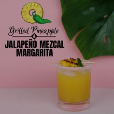 This smoky Mezcal Ma