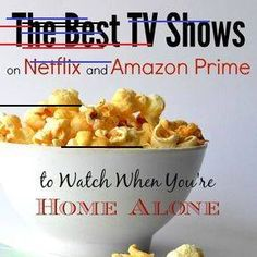 20 of the BEST Series and Shows on Netflix Best Series, Best Tv Shows, Netflix Shows To Watch, Home Alone, Netflix Movies, The Best, Good Things, Amazon, Ethnic Recipes