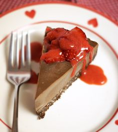 Detoxinista's Raw Chocolate Cheesecake