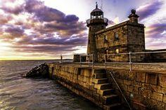 Sunset Lighthouse Howth | by BrendanRoche59 Dublin Bay, Dublin Ireland, Lighthouse, Explore, Sunset, Light House, Sunsets, Exploring, Lighthouses