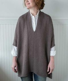 Modern Wrapper Project - Tunic Version in Kid Classic